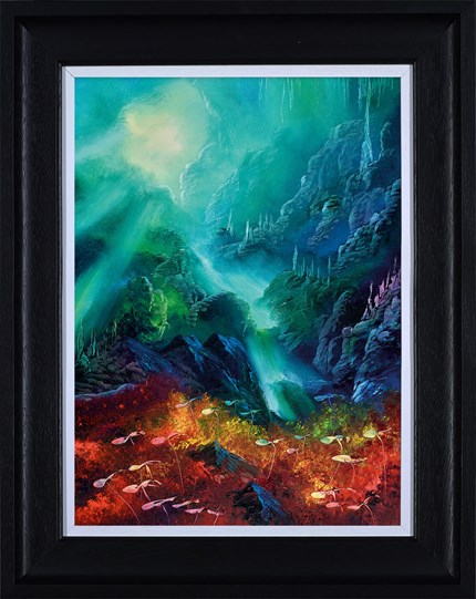 Colours of the Deep by Philip Gray - Framed Embelished Canvas on Board